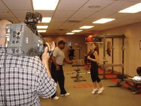 CAPTAIN FITNESS PERSONAL TRAINER ON TELEVISION CHANNEL 3 TV PHOENIX ARIZONA