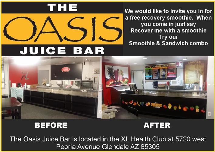 oasis smoothie bar